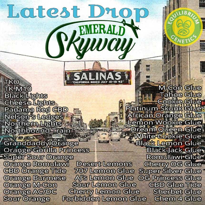 Latest Drop: Emerald Skyway