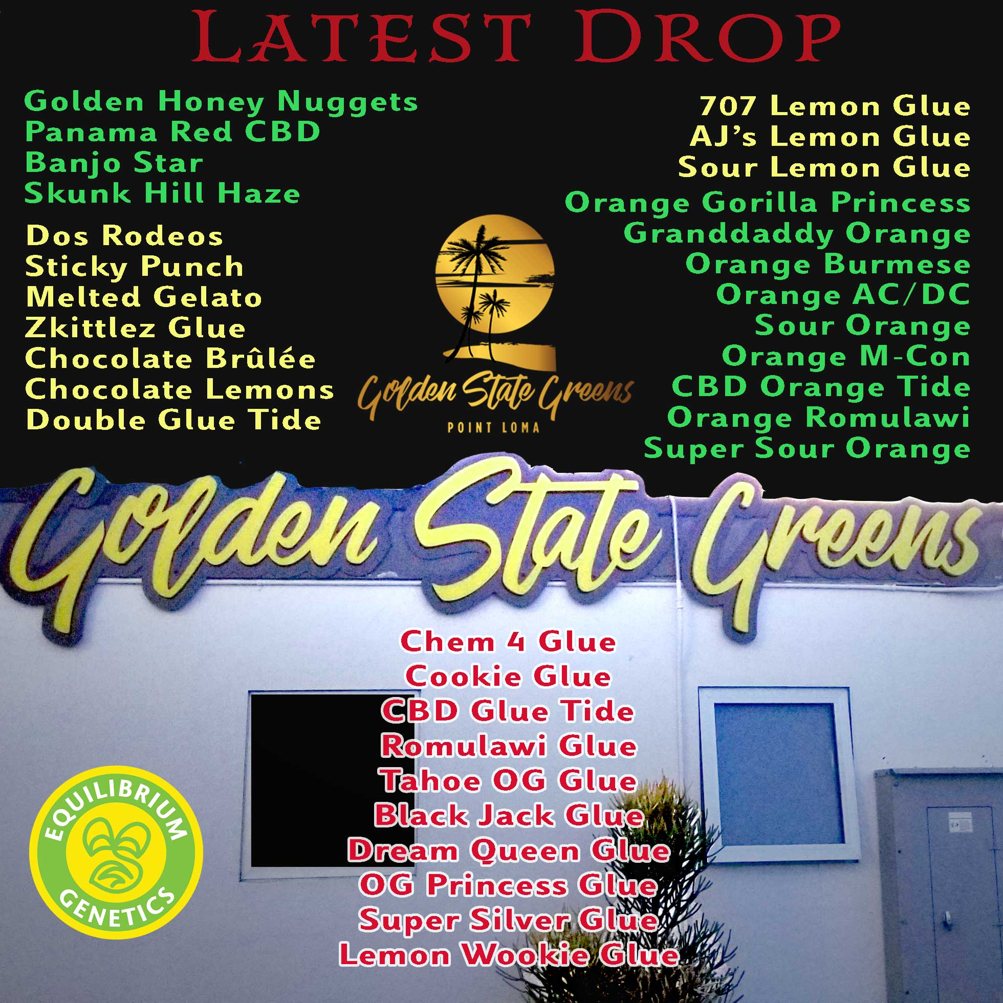 Latest Drop: Golden State Greens