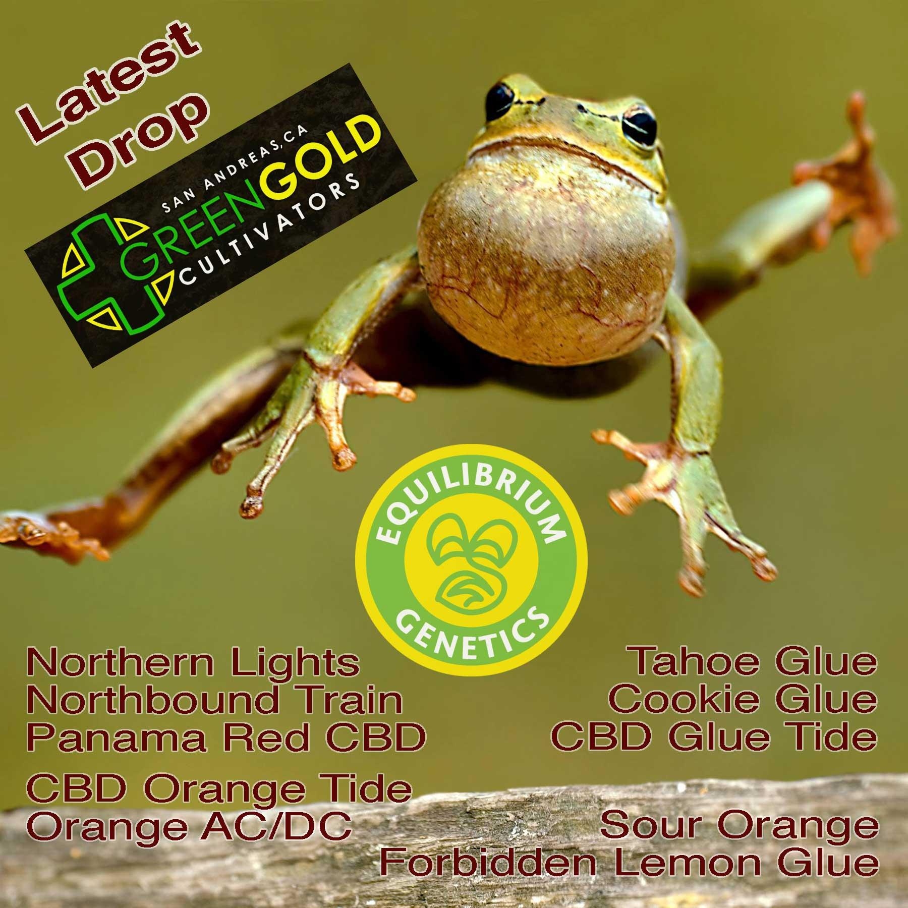 Latest Drop: Green Gold Cultivators