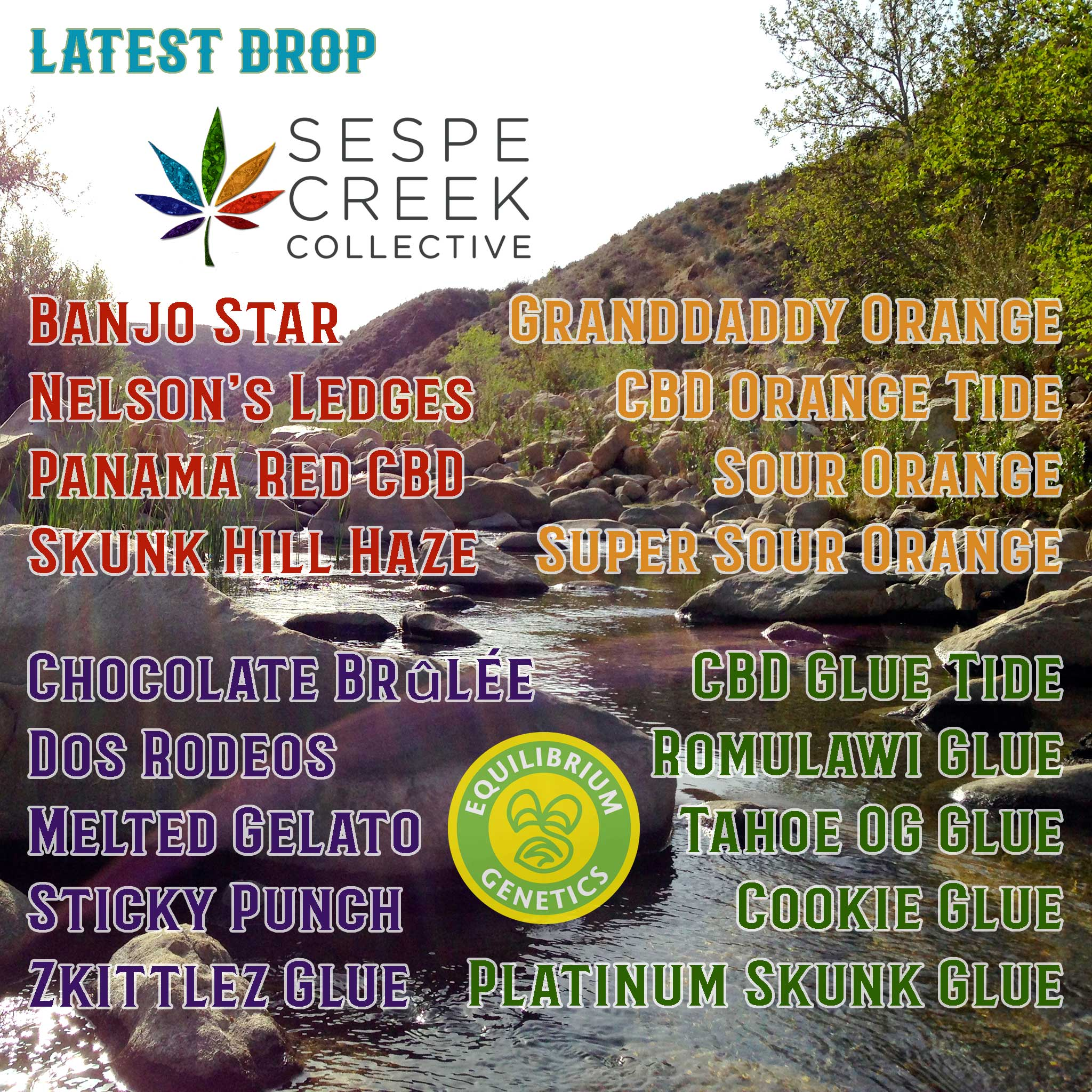 Latest Drop: Sespe Creek Collective