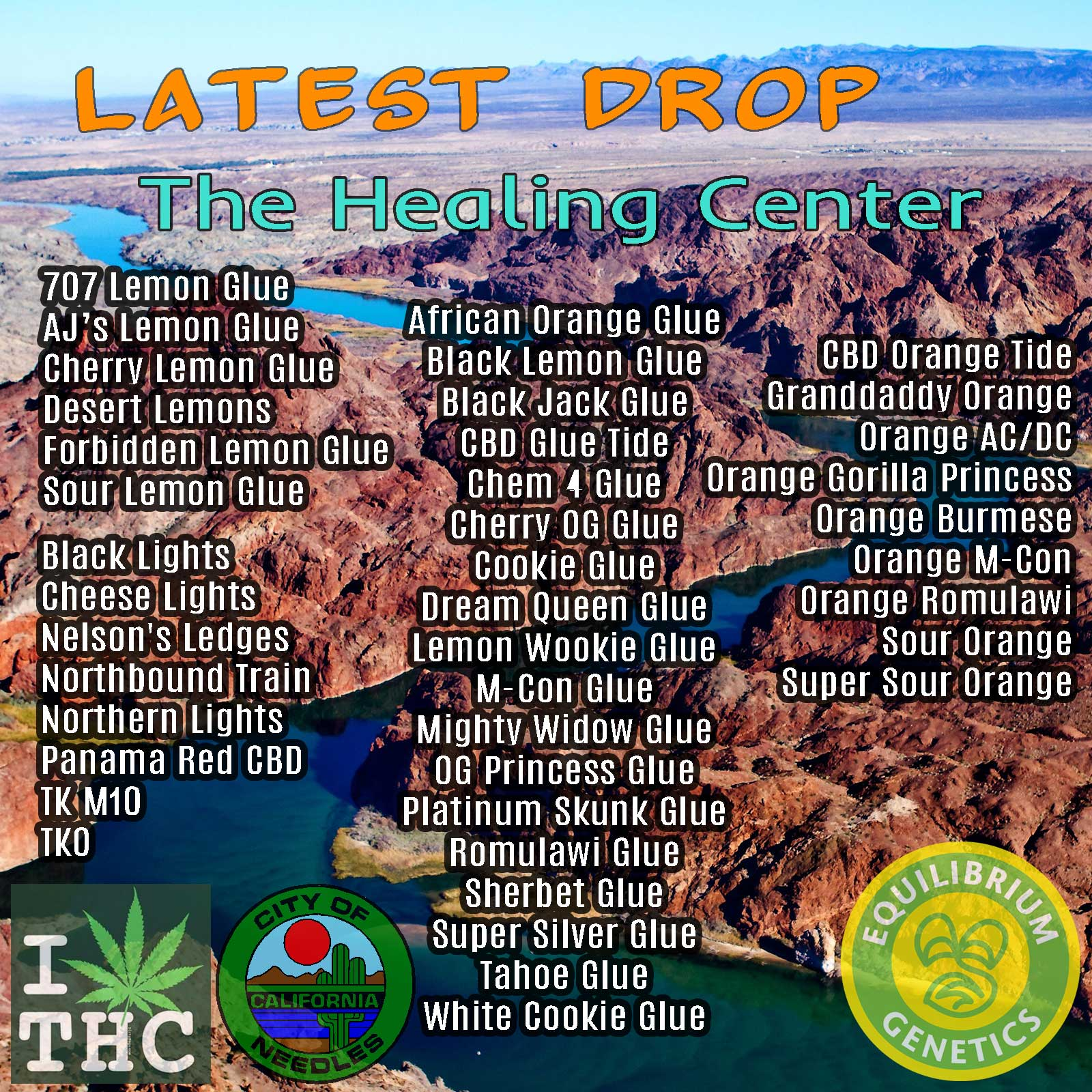 Latest Drop: The Healing Center