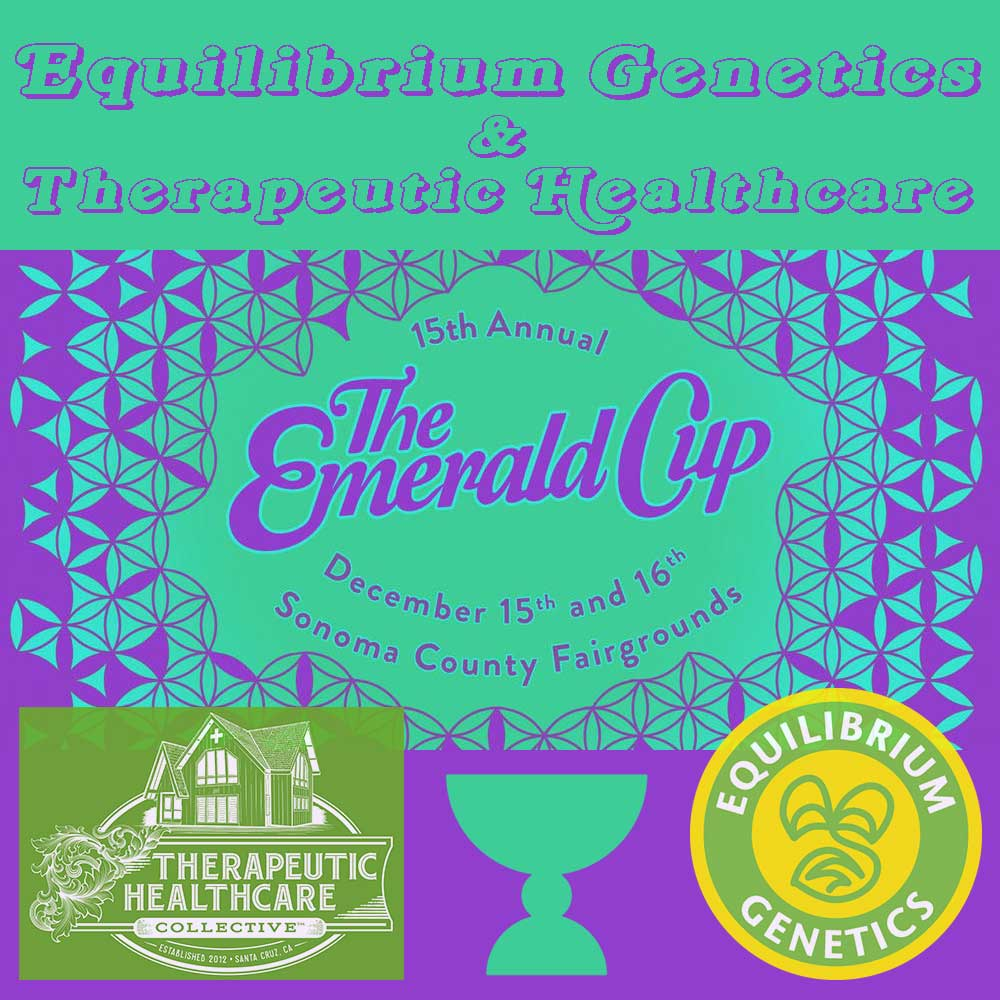 Equilibrium Genetics and Therapeutic Healthcare at The Emerald Cup 2018