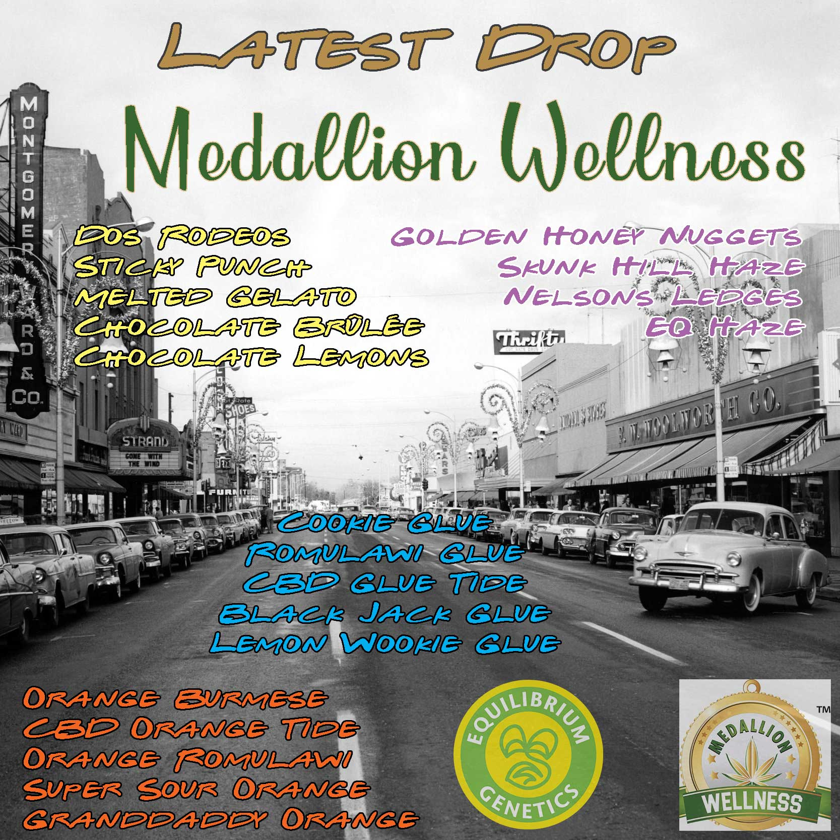 Latest Drop: Medallion Wellness